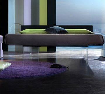 Il letto Air di Lago, un letto sospeso nel vuoto - Moda uomo ...