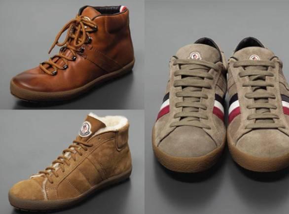Moncler le nuove calzature della collezione autunno for Nuove collezioni scarpe autunno inverno
