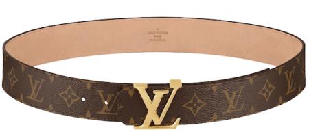 e862b39be3 Cintura Louis Vuitton, il modello Initials 40 MM - Moda uomo ...