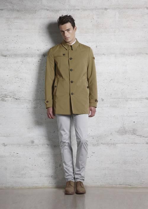 super popular ffcb6 78acd Il beige per Peuterey e la moda uomo primavera estate 2012 ...