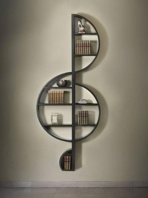 La Libreria Moderna A Violino Per Gli Amanti Della Musica Moda