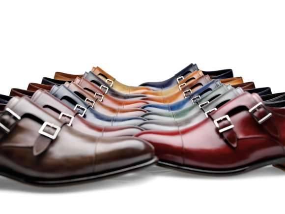 scarpe santoni collezione ai 2013 14 moda uomo