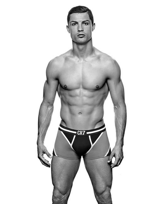 Cristiano Ronaldo e la campagna dell'intimo CR7 [VIDEO]