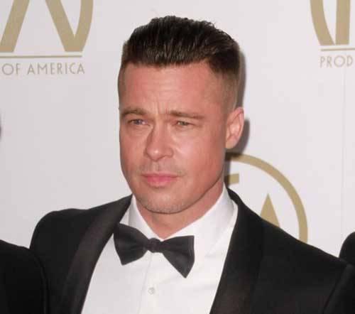 Brad Pitt Nuovo Taglio Capelli Moda Uomo Lifestyle