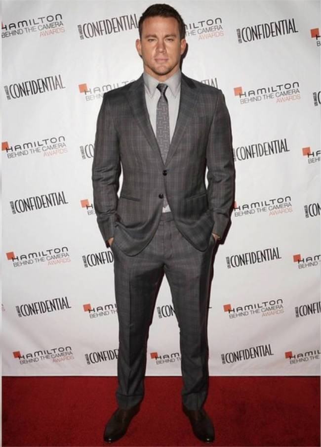 Channing Tatum sceglie Giorgio Armani per l Hamilton Behind the Camera  Awards 5b583db3173