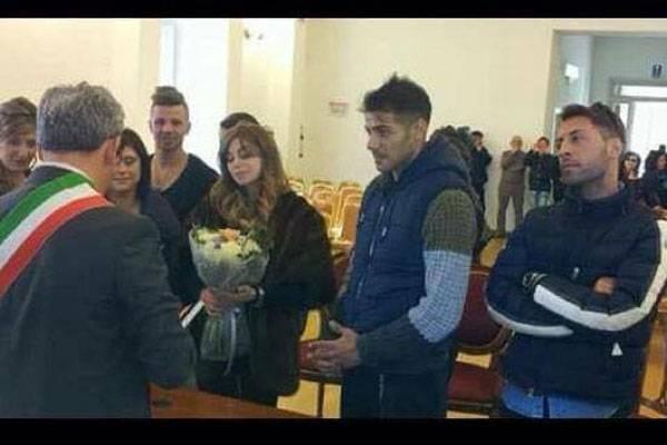 Matrimonio In Comune Quanti Testimoni : Il matrimonio di aldo palmeri e alessia cammarota ecco i