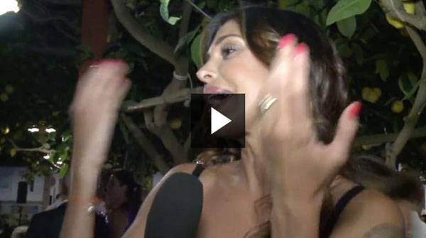 Belen Rodriguez intervista