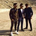 Il volo all'Arena nuovo video con sneakers EA7