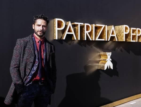 newest 9f151 305f8 Patrizia Pepe Collezione uomo AI 2016/17 con Marco Bocci ...