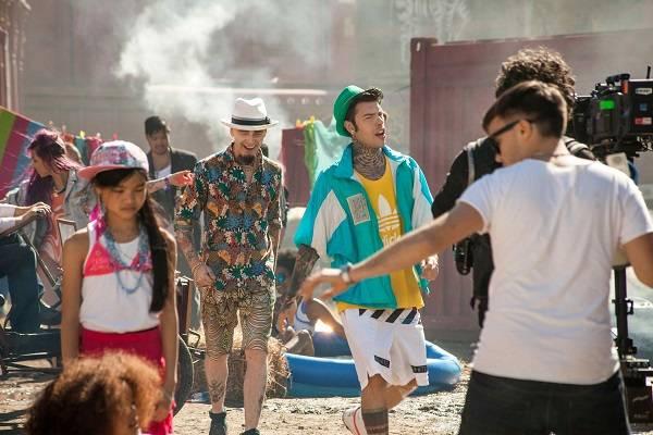 Fedez e J-Ax coppia rap nello spot di Cornetto Algida