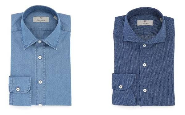 purchase cheap e21c5 7d78c Camicie sportive Canali, stile comodità e la voglia di ...