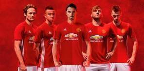 Adidas lancia la nuova Home Jersey del Manchester United per la stagione 2016/17
