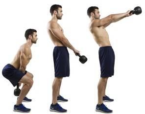 Svolgere esercizi fisici in modo corretto: lo swing con kettlebell