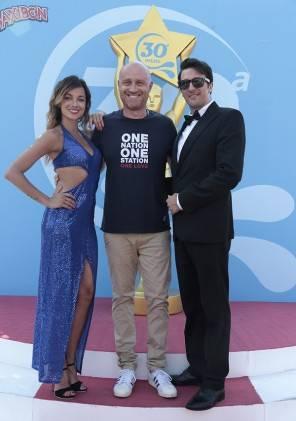 Rudy Zerbi in Aquafan a Riccione