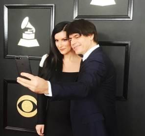 Laura Pausini e Paolo Carta ai Grammy awards look e red carpet