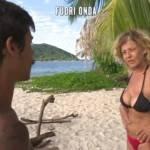 Isola dei Famosi 2017 il fuori onda tra Moreno e Eva ecco cosa si sono detti