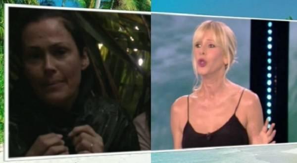 Isola dei Famosi lite furiosa tra Rocco Diffredi e Samantha De Grenet. Anche Alessia la attacca