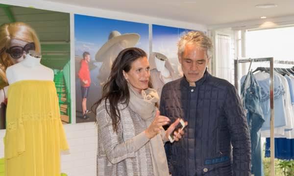 Massimo Rebecchi, la stagione estiva, Forte dei Marmi e Andrea Bocelli