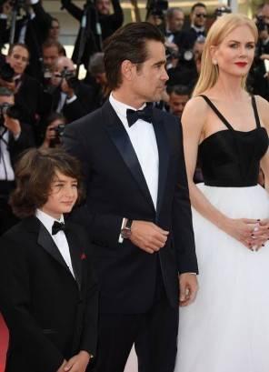 Cannes Festival il look di Colin Farrell tra le palme del red carpet