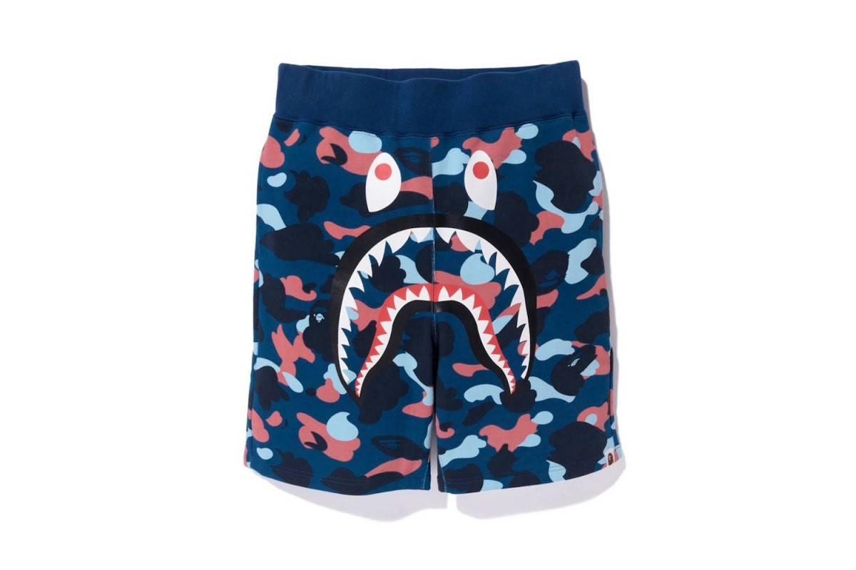 Il brand BAPE propone al mercato i suoi pantaloni corti con un look cartoonesco