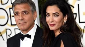 Amal Alamuddin e George Clooney sono diventati genitori dei gemelli Ella e Alexander