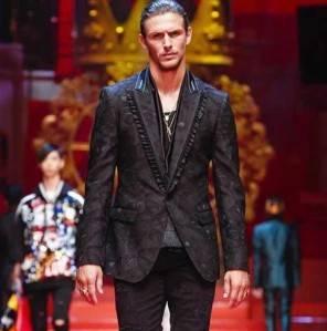 Jake Hall e Cameron Dallas per Dolce e Gabbana alle sfilate milanesi
