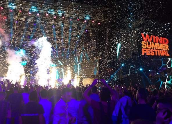 Wind Summer Festival 2017: scaletta cantanti quarta serata 25 giugno