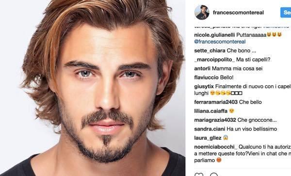 Uomini E Donne News E Gossip Francesco Monte Nuovo Taglio Di