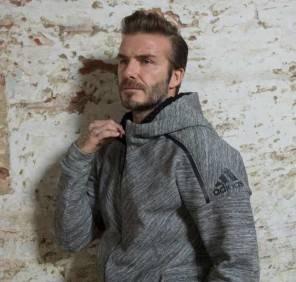 David Beckam a Milano per adidas apertura store in Corso Vittorio Emanuele