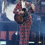 Harry Styles abito Gucci ai 2017 iHeartRadio Festival a Las Vegas
