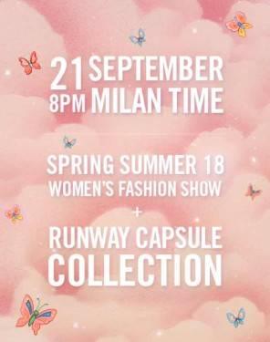 Milano fashion week sfilata Moschino in streaming per Milano moda donna