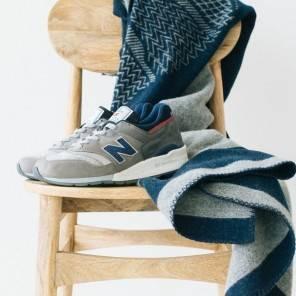 Scarpe New Balance e la collaborazione con Woolrich per il modello 997