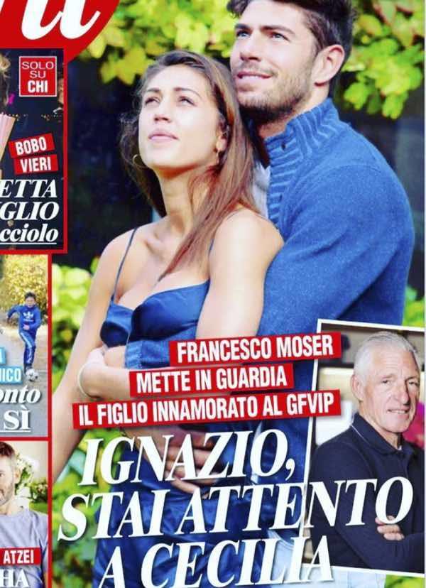 """Esclusivo Il padre di Ignazio lo mette in guardia:""""Stai attento a Cecilia"""""""