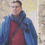 Fabrizio Frizzi i segni dell'operazione sulla testa FOTO