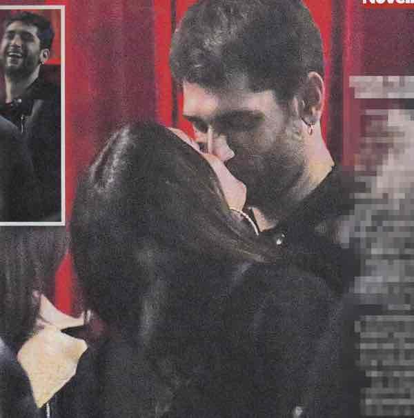 Jeremias Rodriguez bacio con la lingua alla sua nuova fidanzata
