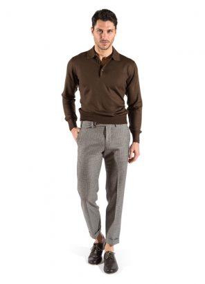 Pitti Uomo gennaio 2018 torna di moda il pantalone in lana e flanella