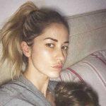 """Elena Santarelli e il figlio malato:""""Portate rispetto per questo momento difficile"""""""