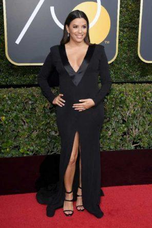 Golden Globes 2018 il look e l'abito delle attrici ecco Eva Longoria