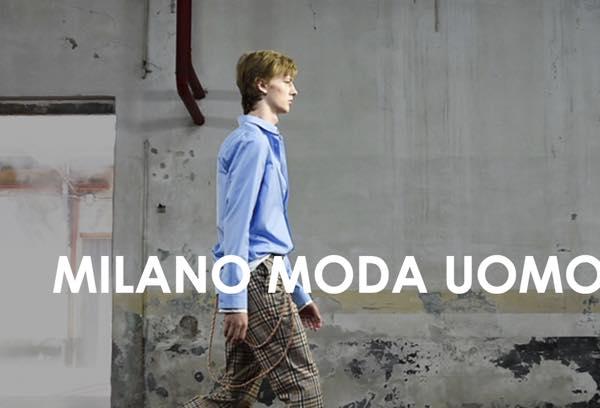 Milano Moda uomo gennaio 2018 il calendario delle sfilate maschili