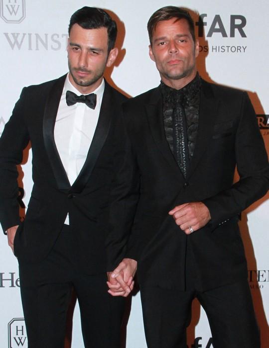 Ricky Martin si è sposato con l'artista Jwan Yosef