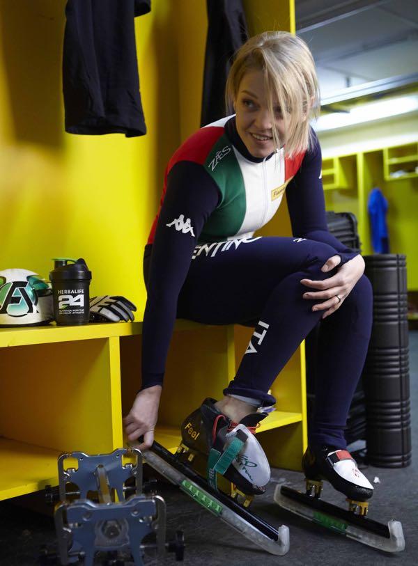 Oro olimpico per ARIANNA FONTANA ai giochi olimpici invernali, già il sesto podio