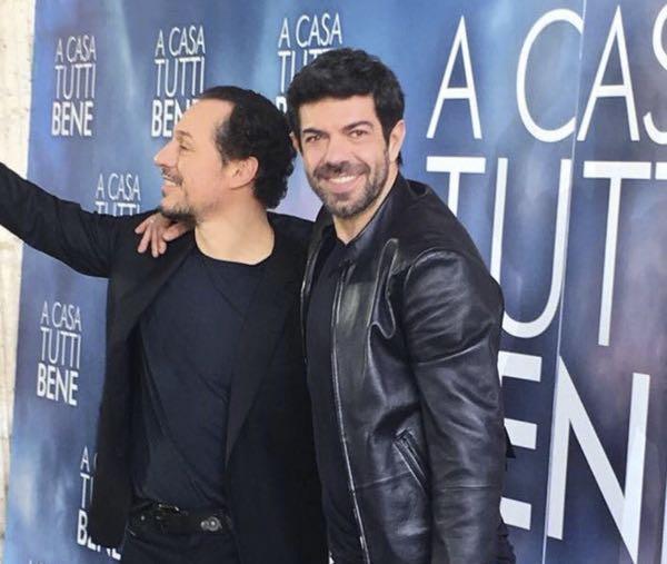 Festival di Sanremo 2018 Favino e Accorsi all'Ariston per il film di Muccino