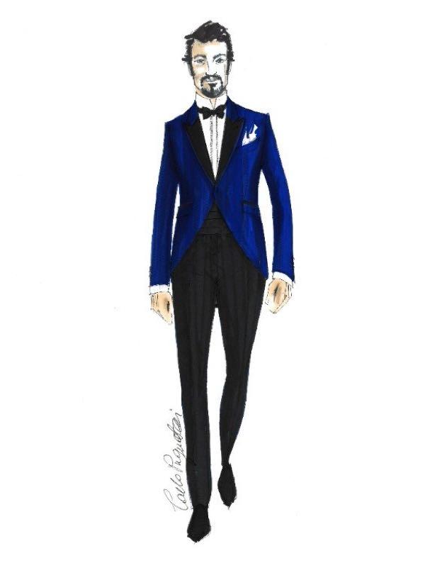 Enrico Brignano Sanremo 2018 abito e stilista scelto all'Ariston