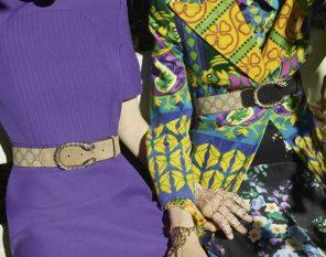 Foto sfilata Gucci febbraio 2018 la collezione donna AI 2018-19