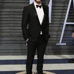 Oscar 2018 abiti e stilisti Burberry ha vestito LIAM HEMSWORTH e MARTIN MCDONAGH