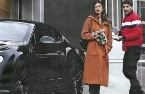 Belen e Iannone una Bentley da 400mila euro in regalo a Lugano