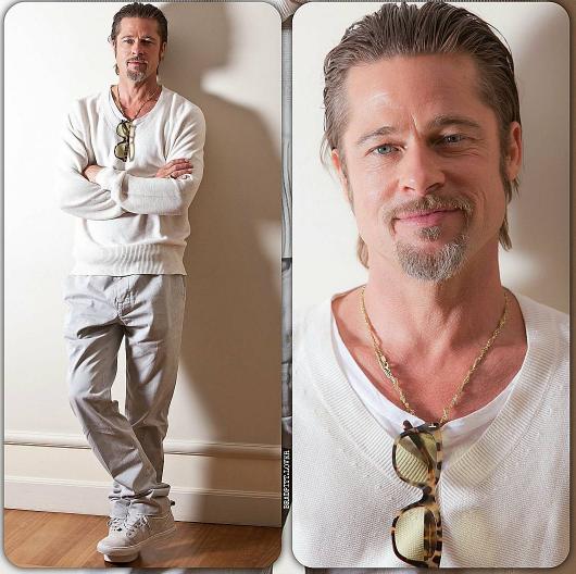 Brad Pitt, voto di castità: niente rapporti almeno per un anno