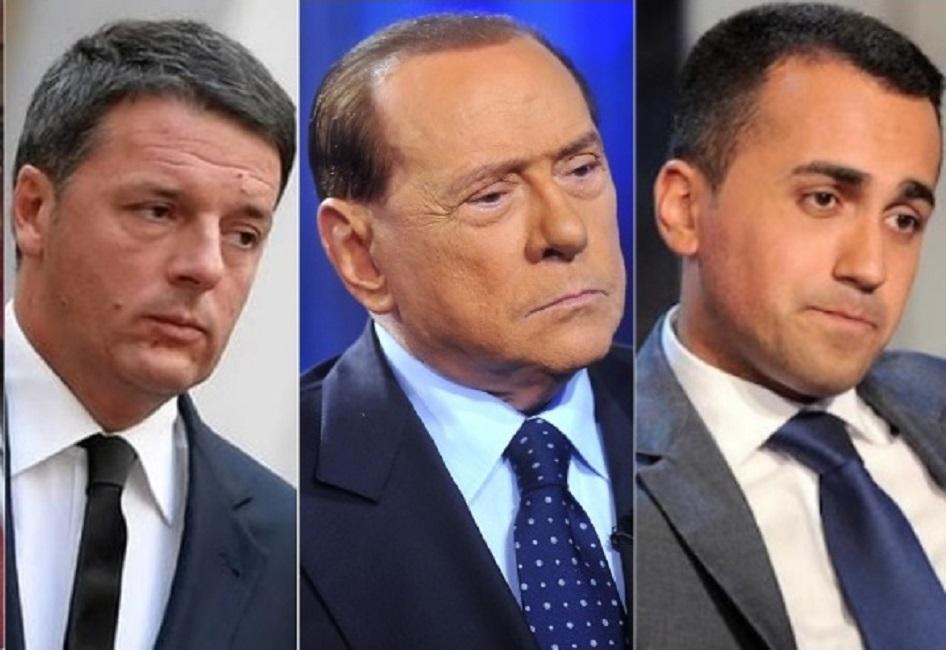 Elezioni politiche 2018 programmazione e l'informazione di Canale 5, Rete 4 e Italia 1