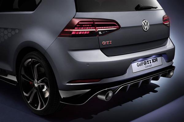 La Golf GTI TCR Concept anteprima mondiale una nuova pietra miliare nella storia tra le compatte