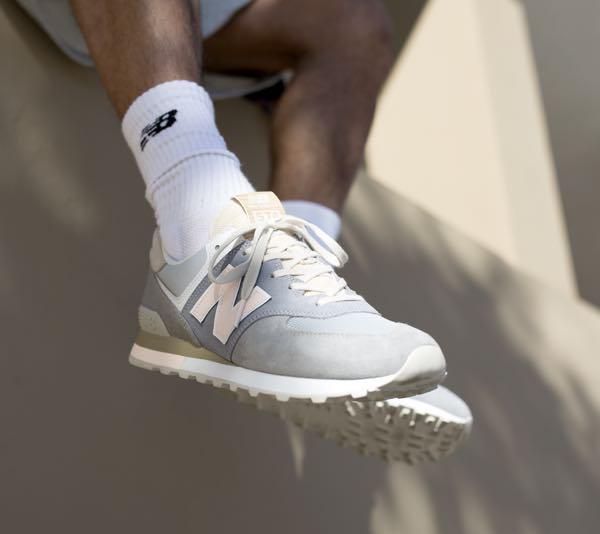 New Balance sneaker ecco la scarpa 574 retro surf